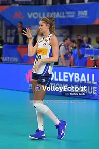 ITALIA - REP. DOMINICANA / VNL Volleyball Nations League 2019 Women's - Pool 5, Week 2 IT, 28 maggio 2019 - Foto: Michele Benda per VolleyFoto.it [Riferimento file: 2019-05-28/ND5_7992]