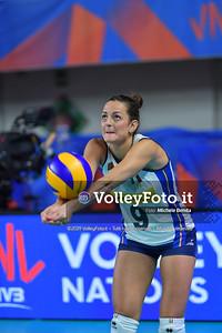 ITALIA - REP. DOMINICANA / VNL Volleyball Nations League 2019 Women's - Pool 5, Week 2 IT, 28 maggio 2019 - Foto: Michele Benda per VolleyFoto.it [Riferimento file: 2019-05-28/ND5_7986]