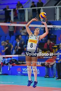 ITALIA - REP. DOMINICANA / VNL Volleyball Nations League 2019 Women's - Pool 5, Week 2 IT, 28 maggio 2019 - Foto: Michele Benda per VolleyFoto.it [Riferimento file: 2019-05-28/ND5_8056]