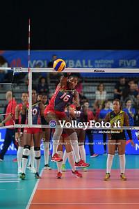 ITALIA - REP. DOMINICANA / VNL Volleyball Nations League 2019 Women's - Pool 5, Week 2 IT, 28 maggio 2019 - Foto: Michele Benda per VolleyFoto.it [Riferimento file: 2019-05-28/ND5_8054]