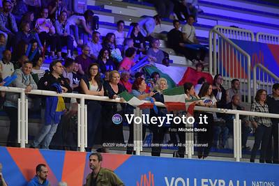 ITALIA - REP. DOMINICANA / VNL Volleyball Nations League 2019 Women's - Pool 5, Week 2 IT, 28 maggio 2019 - Foto: Michele Benda per VolleyFoto.it [Riferimento file: 2019-05-28/ND5_8024]