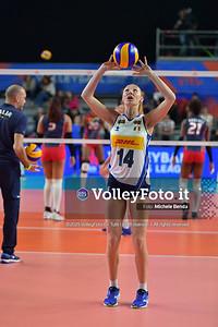 ITALIA - REP. DOMINICANA / VNL Volleyball Nations League 2019 Women's - Pool 5, Week 2 IT, 28 maggio 2019 - Foto: Michele Benda per VolleyFoto.it [Riferimento file: 2019-05-28/ND5_8001]