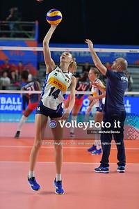 ITALIA - REP. DOMINICANA / VNL Volleyball Nations League 2019 Women's - Pool 5, Week 2 IT, 28 maggio 2019 - Foto: Michele Benda per VolleyFoto.it [Riferimento file: 2019-05-28/ND5_8027]
