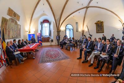 Conferenza Stampa di presentazione della Pool 13 - VNL - Donne , 9 aprile 2019 - Foto: Michele Benda per VolleyFoto.it [Riferimento file: 2019-04-09/NZ6_1003]