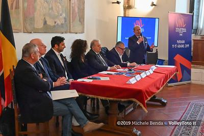 Conferenza Stampa di presentazione della Pool 13 - VNL - Donne , 9 aprile 2019 - Foto: Michele Benda per VolleyFoto.it [Riferimento file: 2019-04-09/NZ6_1010]