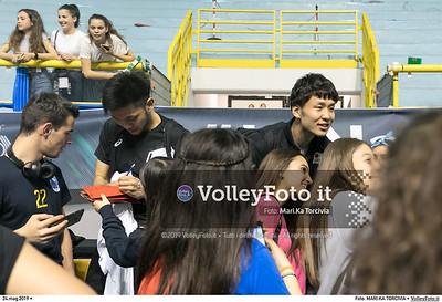 durante presso , 24 maggio 2019. Foto di: MARI.KA TORCIVIA per VolleyFoto.it [riferimento file: 2019-05-25/_I9A1268]