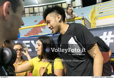 durante presso , 24 maggio 2019. Foto di: MARI.KA TORCIVIA per VolleyFoto.it [riferimento file: 2019-05-25/_I9A1265]