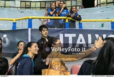 durante presso , 24 maggio 2019. Foto di: MARI.KA TORCIVIA per VolleyFoto.it [riferimento file: 2019-05-25/_I9A1272]