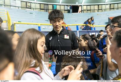 durante presso , 24 maggio 2019. Foto di: MARI.KA TORCIVIA per VolleyFoto.it [riferimento file: 2019-05-25/_I9A1269]