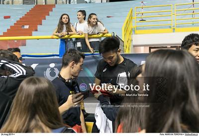 durante presso , 24 maggio 2019. Foto di: MARI.KA TORCIVIA per VolleyFoto.it [riferimento file: 2019-05-25/_I9A1267]