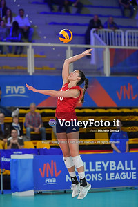 USA-SERBIA / VNL Volleyball Nations League 2019 Women's - Pool 5, Week 2 IT, 28 maggio 2019 - Foto: Michele Benda per VolleyFoto.it [Riferimento file: 2019-05-28/ND5_7476]