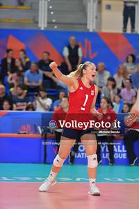 USA-SERBIA / VNL Volleyball Nations League 2019 Women's - Pool 5, Week 2 IT, 28 maggio 2019 - Foto: Michele Benda per VolleyFoto.it [Riferimento file: 2019-05-28/ND5_7474]
