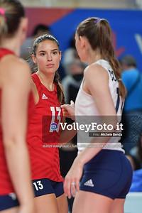 USA-SERBIA / VNL Volleyball Nations League 2019 Women's - Pool 5, Week 2 IT, 28 maggio 2019 - Foto: Michele Benda per VolleyFoto.it [Riferimento file: 2019-05-28/ND5_7479]