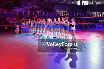 USA-SERBIA / VNL Volleyball Nations League 2019 Women's - Pool 5, Week 2 IT, 28 maggio 2019 - Foto: Michele Benda per VolleyFoto.it [Riferimento file: 2019-05-28/DSC_0610]