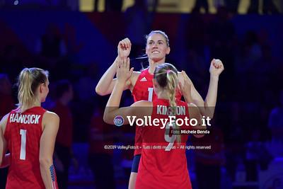 USA-SERBIA / VNL Volleyball Nations League 2019 Women's - Pool 5, Week 2 IT, 28 maggio 2019 - Foto: Michele Benda per VolleyFoto.it [Riferimento file: 2019-05-28/ND5_7437]