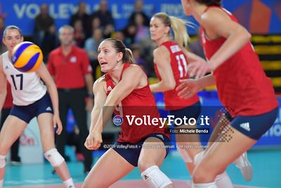 USA-SERBIA / VNL Volleyball Nations League 2019 Women's - Pool 5, Week 2 IT, 28 maggio 2019 - Foto: Michele Benda per VolleyFoto.it [Riferimento file: 2019-05-28/ND5_7461]