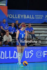 USA-SERBIA / VNL Volleyball Nations League 2019 Women's - Pool 5, Week 2 IT, 28 maggio 2019 - Foto: Michele Benda per VolleyFoto.it [Riferimento file: 2019-05-28/ND5_7460]