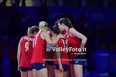 USA-SERBIA / VNL Volleyball Nations League 2019 Women's - Pool 5, Week 2 IT, 28 maggio 2019 - Foto: Michele Benda per VolleyFoto.it [Riferimento file: 2019-05-28/ND5_7443]