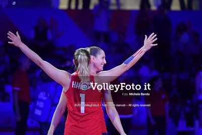 USA-SERBIA / VNL Volleyball Nations League 2019 Women's - Pool 5, Week 2 IT, 28 maggio 2019 - Foto: Michele Benda per VolleyFoto.it [Riferimento file: 2019-05-28/ND5_7435]