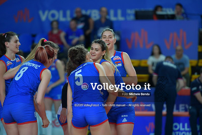 USA-SERBIA / VNL Volleyball Nations League 2019 Women's - Pool 5, Week 2 IT, 28 maggio 2019 - Foto: Michele Benda per VolleyFoto.it [Riferimento file: 2019-05-28/ND5_7450]