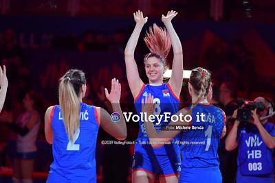 USA-SERBIA / VNL Volleyball Nations League 2019 Women's - Pool 5, Week 2 IT, 28 maggio 2019 - Foto: Michele Benda per VolleyFoto.it [Riferimento file: 2019-05-28/ND5_7448]