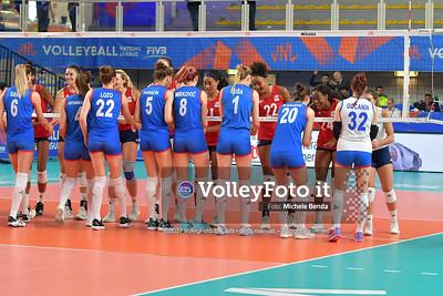 USA-SERBIA / VNL Volleyball Nations League 2019 Women's - Pool 5, Week 2 IT, 28 maggio 2019 - Foto: Michele Benda per VolleyFoto.it [Riferimento file: 2019-05-28/ND5_7431]