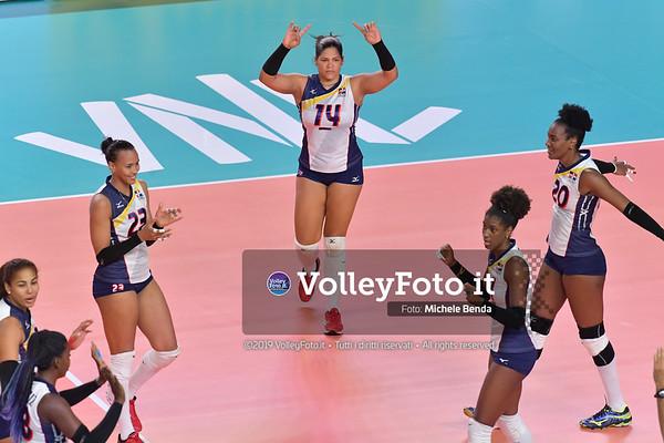 SERBIA - REP. DOMINICANA / VNL Volleyball Nations League 2019 Women's - Pool 5, Week 2 IT, 29 maggio 2019 - Foto: Michele Benda per VolleyFoto.it [Riferimento file: 2019-05-29/ND5_8812]