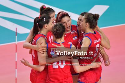 SERBIA - REP. DOMINICANA / VNL Volleyball Nations League 2019 Women's - Pool 5, Week 2 IT, 29 maggio 2019 - Foto: Michele Benda per VolleyFoto.it [Riferimento file: 2019-05-29/ND5_8843]