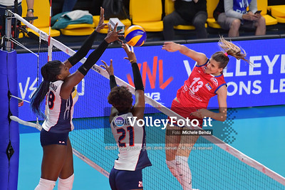 SERBIA - REP. DOMINICANA / VNL Volleyball Nations League 2019 Women's - Pool 5, Week 2 IT, 29 maggio 2019 - Foto: Michele Benda per VolleyFoto.it [Riferimento file: 2019-05-29/ND5_8852]