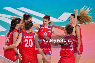SERBIA - REP. DOMINICANA / VNL Volleyball Nations League 2019 Women's - Pool 5, Week 2 IT, 29 maggio 2019 - Foto: Michele Benda per VolleyFoto.it [Riferimento file: 2019-05-29/ND5_8840]