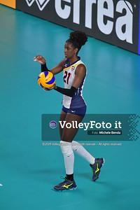 SERBIA - REP. DOMINICANA / VNL Volleyball Nations League 2019 Women's - Pool 5, Week 2 IT, 29 maggio 2019 - Foto: Michele Benda per VolleyFoto.it [Riferimento file: 2019-05-29/ND5_8805]