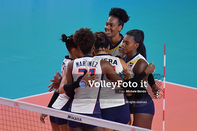 SERBIA - REP. DOMINICANA / VNL Volleyball Nations League 2019 Women's - Pool 5, Week 2 IT, 29 maggio 2019 - Foto: Michele Benda per VolleyFoto.it [Riferimento file: 2019-05-29/ND5_8792]