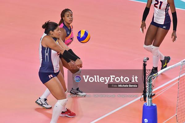 SERBIA - REP. DOMINICANA / VNL Volleyball Nations League 2019 Women's - Pool 5, Week 2 IT, 29 maggio 2019 - Foto: Michele Benda per VolleyFoto.it [Riferimento file: 2019-05-29/ND5_8857]