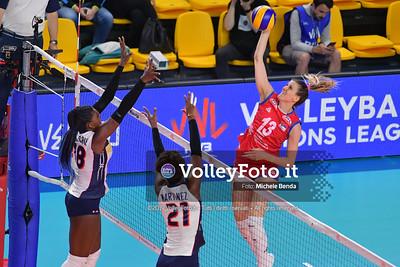 SERBIA - REP. DOMINICANA / VNL Volleyball Nations League 2019 Women's - Pool 5, Week 2 IT, 29 maggio 2019 - Foto: Michele Benda per VolleyFoto.it [Riferimento file: 2019-05-29/ND5_8851]