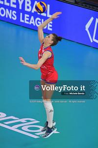 SERBIA - REP. DOMINICANA / VNL Volleyball Nations League 2019 Women's - Pool 5, Week 2 IT, 29 maggio 2019 - Foto: Michele Benda per VolleyFoto.it [Riferimento file: 2019-05-29/ND5_8836]