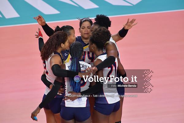 SERBIA - REP. DOMINICANA / VNL Volleyball Nations League 2019 Women's - Pool 5, Week 2 IT, 29 maggio 2019 - Foto: Michele Benda per VolleyFoto.it [Riferimento file: 2019-05-29/ND5_8814]