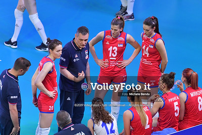 SERBIA - REP. DOMINICANA / VNL Volleyball Nations League 2019 Women's - Pool 5, Week 2 IT, 29 maggio 2019 - Foto: Michele Benda per VolleyFoto.it [Riferimento file: 2019-05-29/ND5_8828]