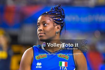 SYLLA Miryam durante USA - ITALIA / VNL Volleyball Nations League 2019 Women's - Pool 5, Week 2 IT, 29 maggio 2019 - Foto: Michele Benda per VolleyFoto.it [Riferimento file: 2019-05-29/ND5_9080]