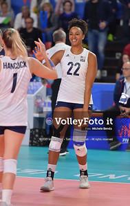 WASHINGTON Haleigh durante USA - ITALIA / VNL Volleyball Nations League 2019 Women's - Pool 5, Week 2 IT, 29 maggio 2019 - Foto: Michele Benda per VolleyFoto.it [Riferimento file: 2019-05-29/ND5_9146]