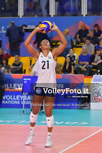 LEE Simone durante USA - ITALIA / VNL Volleyball Nations League 2019 Women's - Pool 5, Week 2 IT, 29 maggio 2019 - Foto: Michele Benda per VolleyFoto.it [Riferimento file: 2019-05-29/ND5_9141]