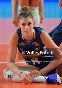 ORRO Alessia durante SERBIA - ITALIA / VNL Volleyball Nations League 2019 Women's - Pool 5, Week 2 IT, 30 maggio 2019 - Foto: Michele Benda per VolleyFoto.it [Riferimento file: 2019-05-30/ND5_0185]