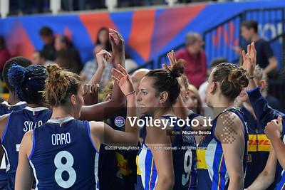 SERBIA - ITALIA / VNL Volleyball Nations League 2019 Women's - Pool 5, Week 2 IT, 30 maggio 2019 - Foto: Michele Benda per VolleyFoto.it [Riferimento file: 2019-05-30/ND5_0178]