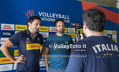 MAZZANTI Davide e Stefano LAVARINI - VNL / Volleyball Nations League 2019 Women's - Pool 13, Week 4. IT, 10 giugno 2019 - Foto: Michele Benda per VolleyFoto.it [Riferimento file: 2019-06-10/ND5_3601]