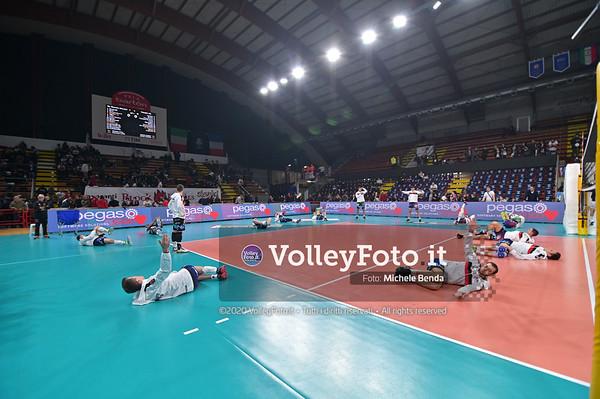 Sir Sicoma Monini PERUGIA vs TOURS VB, 4th round, Pool D - Leg 4, CEV Volleyball Champions League 2020 presso PalaBarton Perugia IT, 29 gennaio 2020. Foto: Michele Benda [riferimento file: 2020-01-29/NZ6_2451]