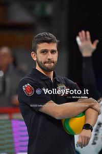 Sir Sicoma Monini PERUGIA vs TOURS VB, 4th round, Pool D - Leg 4, CEV Volleyball Champions League 2020 presso PalaBarton Perugia IT, 29 gennaio 2020. Foto: Michele Benda [riferimento file: 2020-01-29/ND5_3727]