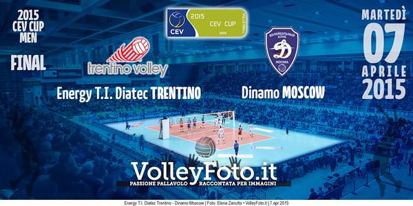 Energy T.I. Diatec Trentino, Dinamo MOSCOW