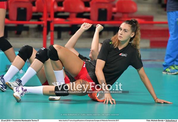 ITALIA-AUSTRIA Qualificazioni #EuroVolleyW
