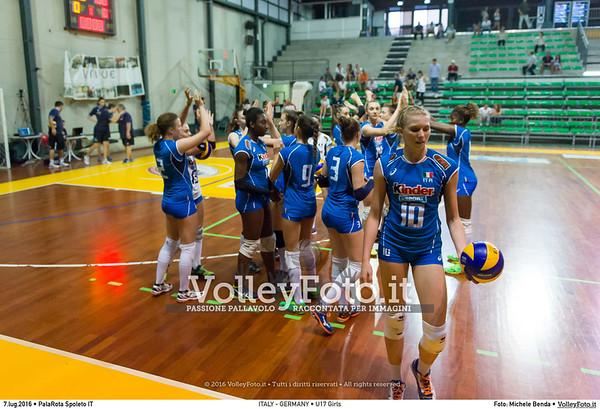 ITALY - GERMANY • U17 Girls