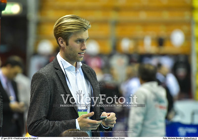 Sir Safety Sicoma PERUGIA - SWD Powervolleys Düren 4th Final - Away match.  2016 CEV Volleyball Cup - Men.  PalaEvangelisti Perugia IT, 27.01.2016 FOTO: Michele Benda © 2016 Volleyfoto.it, all rights reserved [id:20160127.MB2_5628]