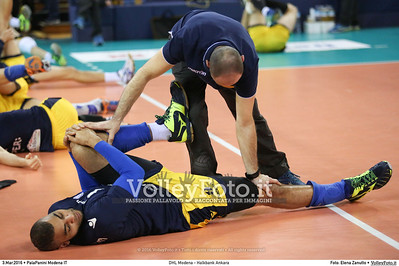 DHL Modena - Halkbank Ankara Playoff12 - 2016 CEV DenizBank Volleyball Champions League - Men,  PalaPanini Modena IT, 03.03.2016 FOTO: Elena Zanutto © 2016 Volleyfoto.it, all rights reserved [id:20160303.4B2A9296]